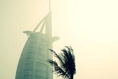 Burj Al阿拉伯人的顶层 库存图片