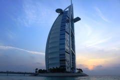 Burj Al阿拉伯人迪拜 图库摄影