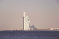 BURJ AL阿拉伯人,迪拜, 2017年6月28日的阿拉伯联合酋长国 免版税库存照片
