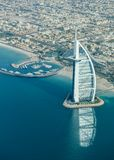 Burj Al阿拉伯人-迪拜,阿拉伯联合酋长国 免版税库存照片