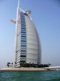 Burj Al阿拉伯旅馆在迪拜 库存图片