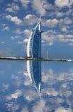 Burj Al阿拉伯豪华旅馆在Dubaj,阿拉伯联合酋长国 库存图片