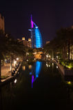 Burj-al-árabe fotografia de stock