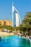 Burj Al阿拉伯人,迪拜,阿拉伯联合酋长国 库存照片
