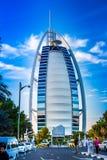 Burj Al Arab é um hotel das estrelas do luxo 5 Fotografia de Stock Royalty Free