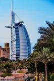 Burj Al Arab é um hotel das estrelas do luxo 5 Fotos de Stock