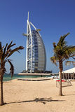 Burj al Arab. Architecture typical building of dubai Royalty Free Stock Photos