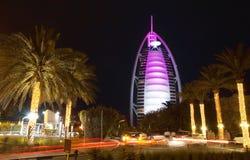 Burj Al Arab. The Burj Al Arabis a luxury hotel located in Dubai, United Arab Emirates. Canon 5DmarkII Royalty Free Stock Image
