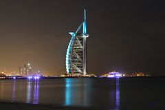 Burj al arab royalty free stock photo