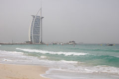 Burj Al Arab. UAE, Dubai, Burj Al Arab luxury hotel Stock Photo