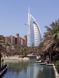 Burj Al Arab. Picture of Burj Al Arab hotel in Dubai, SAE Royalty Free Stock Image