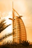 Burj al arab. A landmark of dubai Stock Photos