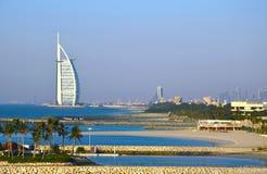 Burj Al Arab, Doubai, de V.A.E Stock Foto's