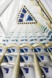 Burj Al Arab, Dubai. The hotel Burj Al Arab in Dubai is the highest hotel aand the most dearest Royalty Free Stock Photos