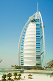 Burj al arab in dubai Stock Images