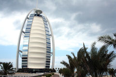 Burj Al Arab, Dubai, Front. The famous seven Star Burj al Arab, Dubai in Front Stock Images