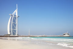 Burj Al Arab, Dubai, UAE Royalty Free Stock Photography