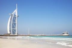 Burj Al Arab, Dubai, UAE. Image of a unique iconic building, the Burj Al Arab at Dubai, United Arab Emirates Royalty Free Stock Photography