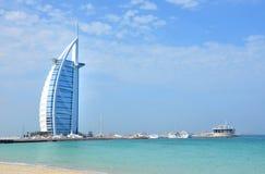 Burj Al Arab, Dubai, UAE Fotografering för Bildbyråer