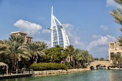 Burj al Arab in Dubai Royalty Free Stock Photography