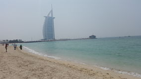 Burj Al Arab Emirates Imágenes de archivo libres de regalías
