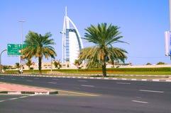 Burj Al Arab Hotel Fotografering för Bildbyråer