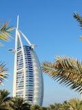 Burj Al Arab Hotel Imagenes de archivo