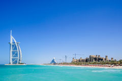 Burj al Arab hotel,Dubai,UAE Royalty Free Stock Photography