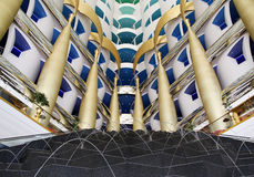 Burj Al Arab Hotel, interior Stock Photo