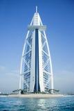 Burj Al Arab hotell på Maj 10, 2014 i Dubai, hav Royaltyfria Foton