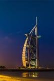 Burj Al Arab hotell på November 15, 2012 i Dubai Royaltyfria Bilder