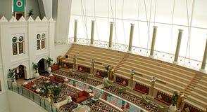 Burj al arab inside Stock Photo