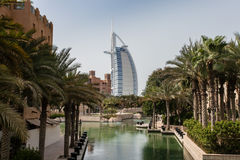 The burj al arab Royalty Free Stock Photos