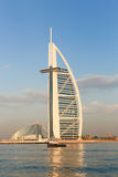 Burj Al Arab luxury hotel Stock Images