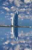 Burj  Al Arab luxury hotel in Dubaj, UAE Stock Image