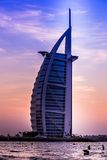 Burj Al Arab is a luxury 5 stars hotel Stock Photo