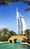 Burj Al Arab and Madina Jumeirah Stock Photography