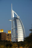 Burj al Arab at night, Dubai Stock Photos
