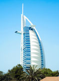 Burj Al Arab On The Beach Stock Photo