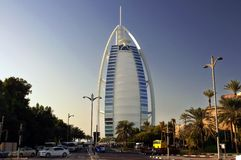 Burj Al Arab (tour des Arabes) photo stock