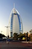 Burj Al Arab (Tower of the Arabs). Burj Al Arab is a luxury hotel located in Dubai, United Arab Emirates. It has been called 'The world's Stock Image