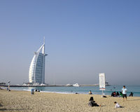 Burj Al Arab & The World Royalty Free Stock Image