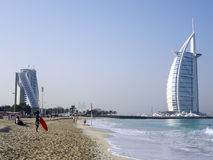 Burj Al Arab & The World Royalty Free Stock Images