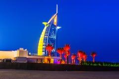 Burj Al Arabe hotell i Dubai Royaltyfri Bild