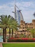 Burj Al-Araber Stockfotos