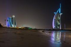 Burj Al Araber in Dubai Stockfotos