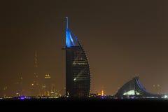 Burj Al-Araber Dubai Stockfotografie
