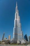 Burj al Khalifa, den mest högväxta byggnaden i världen Royaltyfri Foto