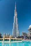 Burj al Khalifa, the tallest building in the world Stock Photography