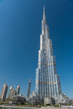 Burj al Khalifa, the tallest building in the world Royalty Free Stock Photo